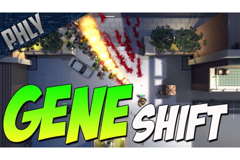 AWESOME Top Down Shooter - GTA1 Like Game (GeneShift ...