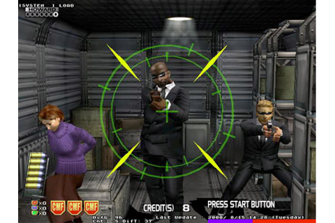 Confidential Mission - Videogame by Sega