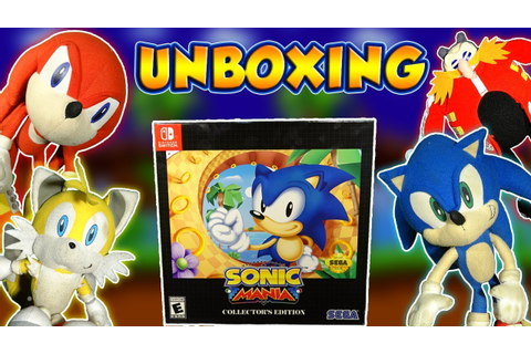 ABM: Sonic Gangs Getting Sonic Mania Collection Edition ...