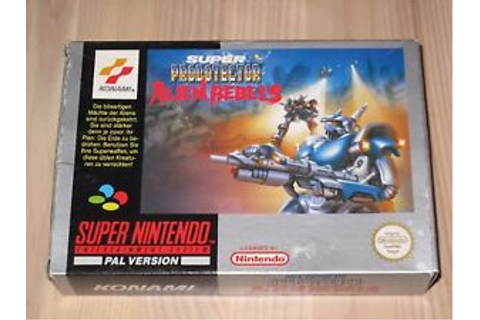 Super probotector alien rebels super nintendo SNES - Game ...