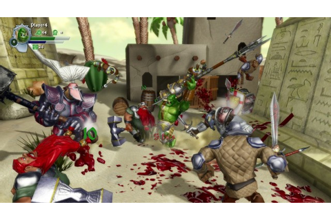 Orc Attack is a downloadable hack-and-slash game with farts