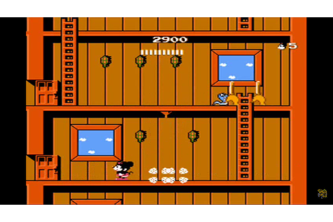 Mickey Mousecapade NES Review – Games That I Play