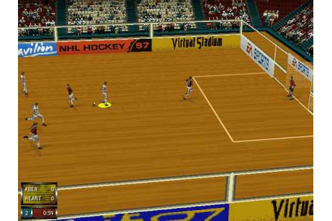 Fifa 97 Indoor Match. - YouTube