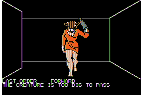 Download Theseus and the Minotaur (Apple II) - My Abandonware