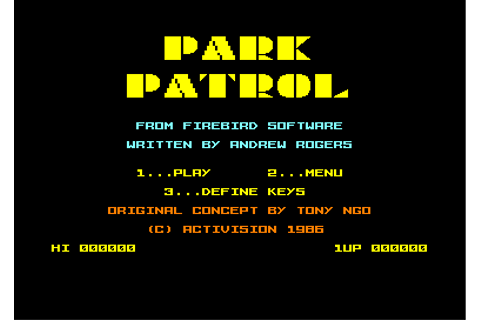 Download Park Patrol - My Abandonware