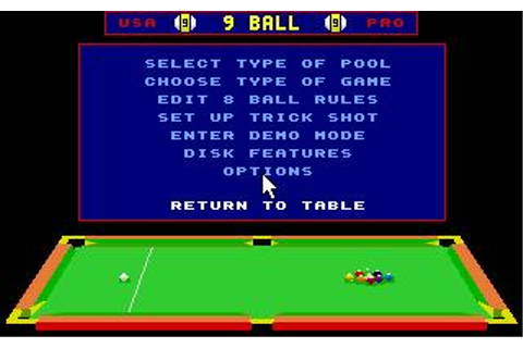 Archer Maclean's Pool (a.k.a. Pool Shark) Download (1992 ...