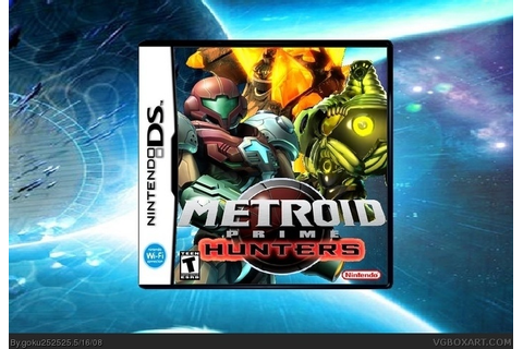 Metroid Prime: Hunters Nintendo DS Box Art Cover by goku252525