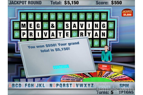 Wheel of Fortune Download on Games4Win