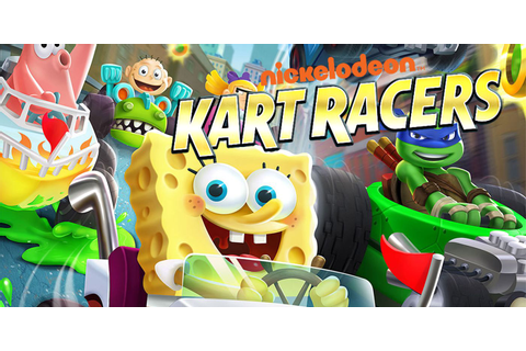 Nickelodeon Kart Racers Pits SpongeBob Against Tommy Pickles