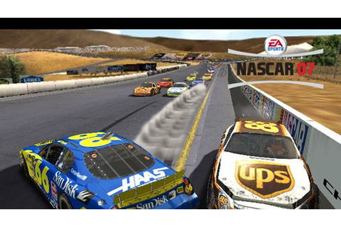 NASCAR 07 (2006) by EA Sports PS2 game