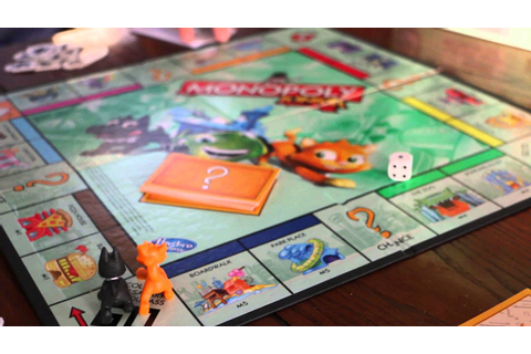 How to Play Monopoly Junior Game from Hasbro - YouTube