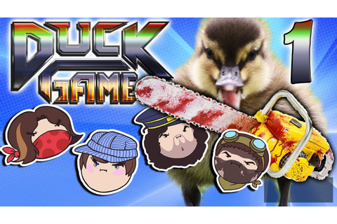 Duck Game: Quack Attacking! - PART 1 - Steam Rolled - YouTube