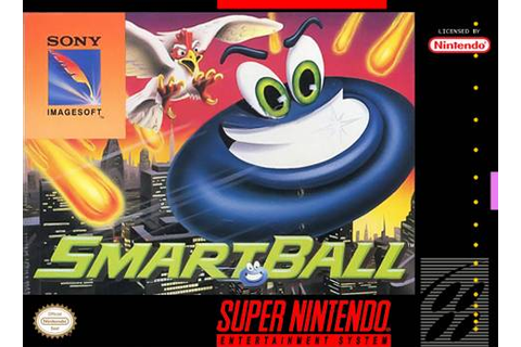 Smartball SNES Super Nintendo