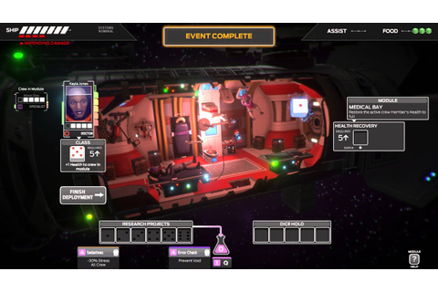 Let's Try: Tharsis - Dice-Based Space Survival Game! Part ...