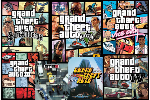 'Grand Theft Auto' Video Game Series