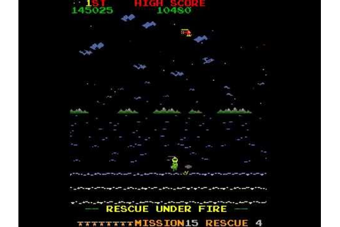 Arcade Game: Rescue (1982 Stern Electronics) - YouTube