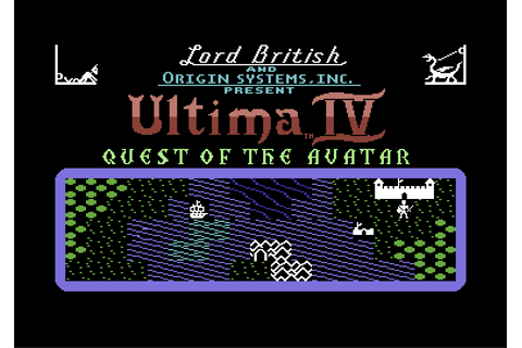 Ultima IV: Quest of the Avatar Screenshots for Commodore ...