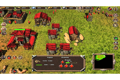 Obscure RTS Game: Highland Warriors - YouTube
