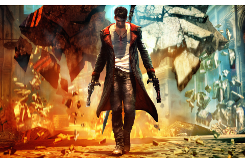 Devil May Cry - Video Games Wallpaper (25464450) - Fanpop