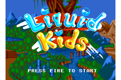 Liquid Kids | 80'S Top Games