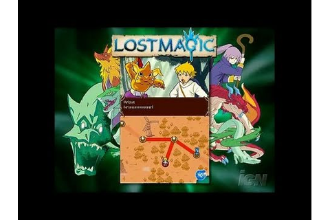 Lost Magic Nintendo DS Trailer - Lostmagic Trailer - YouTube