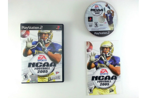 NCAA Football 2005 game for Playstation 2 (Complete) | The ...