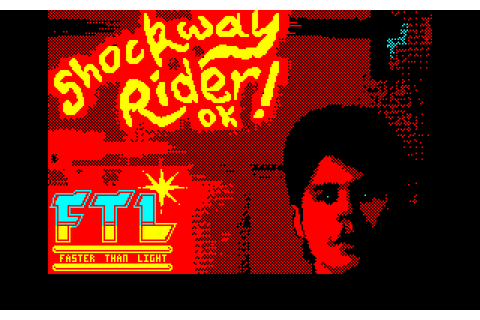 Shockway Rider (1986) by FTL Amstrad CPC game