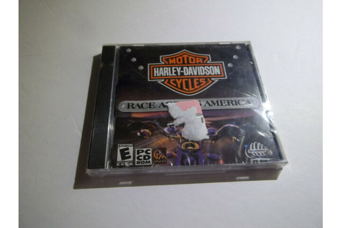 Harley-Davidson: Race Across America rare pc game sealed ...