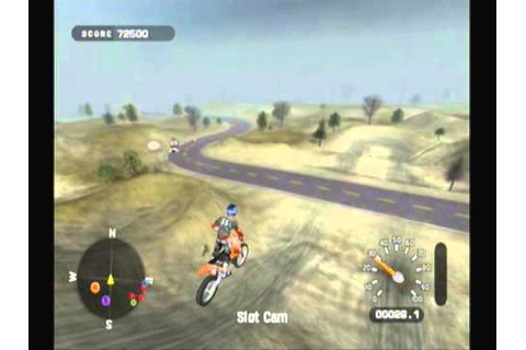 MX Unleashed freeride (freestyle) gameplay - YouTube
