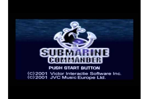 Submarine Commander Playstation playthrough: Stage 1 - YouTube