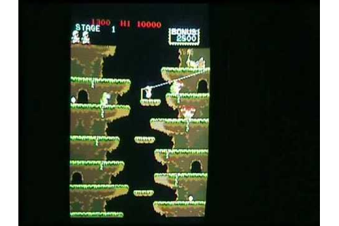 ROC'N ROPE (HQ) ARCADE GAME ORIGINAL BOARD KONAMI - YouTube