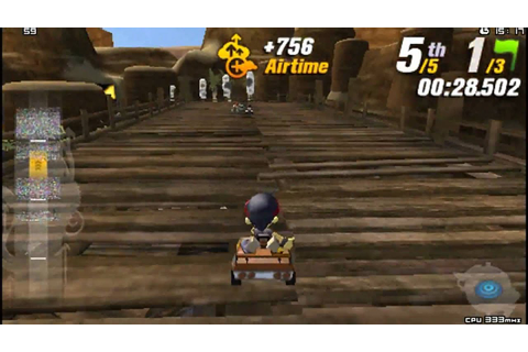 Modnation Racers PSP Gameplay HD - YouTube
