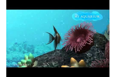 My Aquarium - PS3 sim game - YouTube