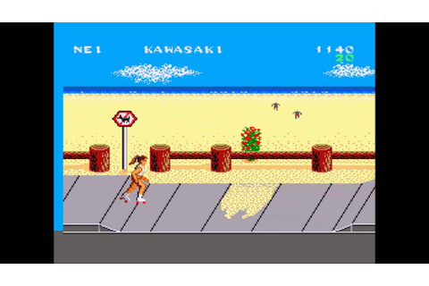 California Games (Sega Master System) - 4 : Skating (50 Hz ...