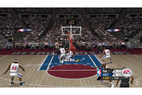 NBA Live 2005 GameCube Gameplay HD - YouTube
