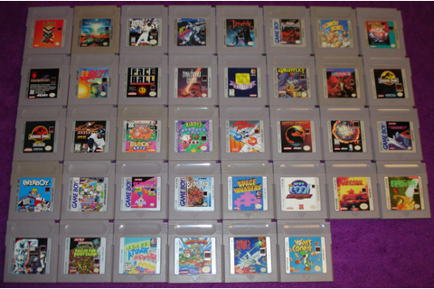 FS: Big Collection of 60+ Game Boy & Color Games *All ...