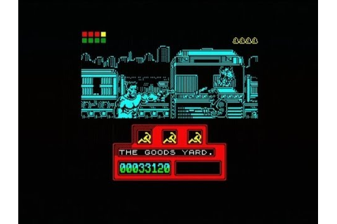 RED HEAT - 128K (ZX SPECTRUM - FULL GAME) - YouTube