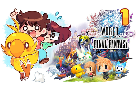 OUR FIRST FF GAME! / World Of Final Fantasy / Part 1 ...