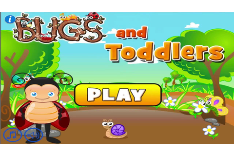 Bugs and Toddlers: Free Preschool Learning Games for Boys ...