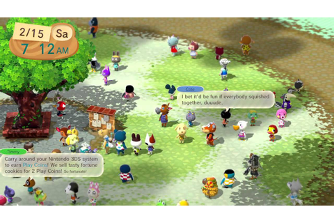 Animal Crossing Plaza Wii U - Funny Dancing Pave - YouTube