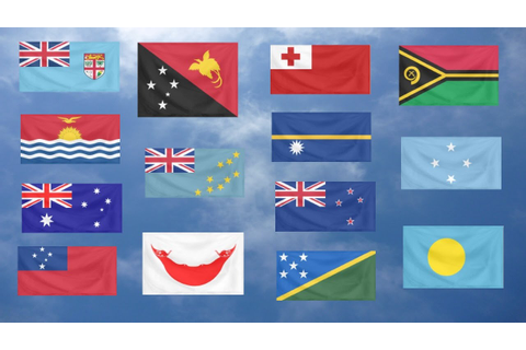 Flag Quiz, Oceania. - YouTube