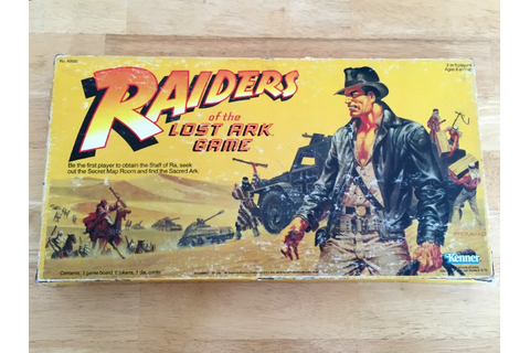 Raiders of the Lost Ark Game - Game Night Guys