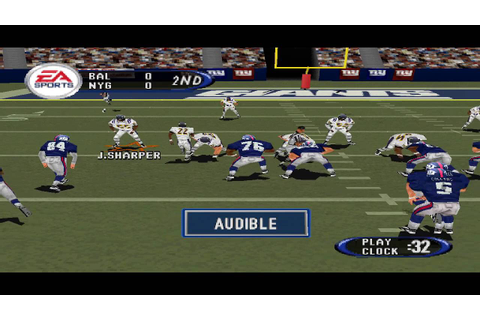 Madden NFL 2001 PS1 Gameplay HD - YouTube