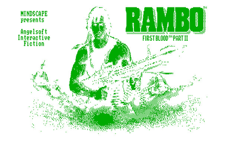 Rambo: First Blood Part II (1985 - DOS). Ссылки, описание ...