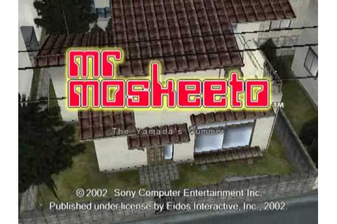 Mr Moskeeto (PS2) Introductory Line - YouTube