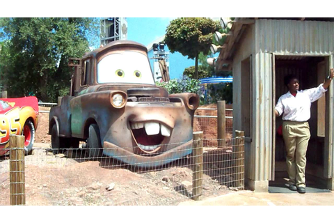 Cars Quatre Roues Rallye @ Disneyland Paris - On Ride - HD ...