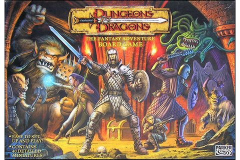 Wee Blokes: Dungeons & Dragons the boardgame