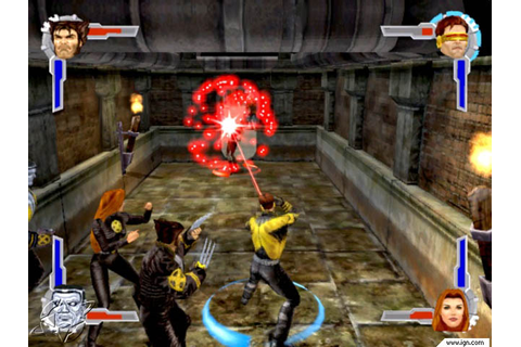 X-Men Legends Screenshots, Pictures, Wallpapers - GameCube ...