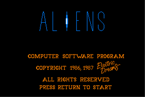 Download Aliens: The Computer Game (Amstrad CPC) - My ...