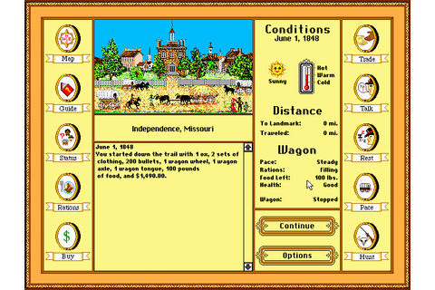 Download Oregon Trail Deluxe - My Abandonware